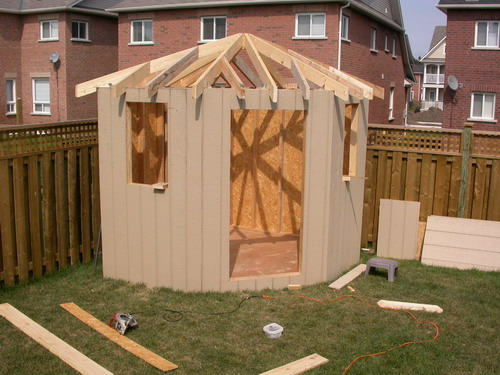5 sided shed roof plans – 5 Sided Garden Shed Plans
